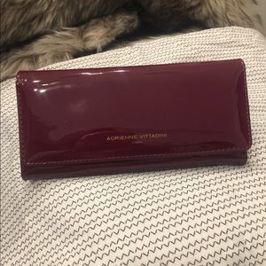 Accessories - Adrienne Vittadini patent leather wallet
